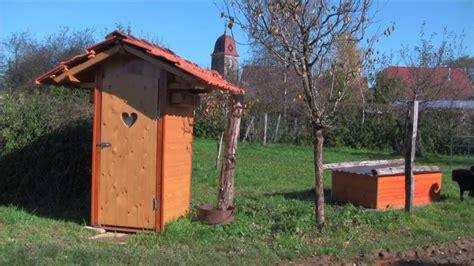 wc im garten kompost toilette selber bauen