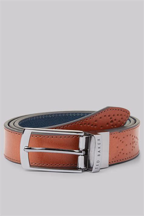 Ted Baker Belt Brogue ted baker brogue detail belt