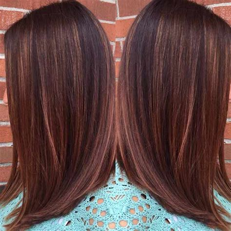 dark brown hair with copper highlights what s the best copper highlights brown hair hairs picture gallery