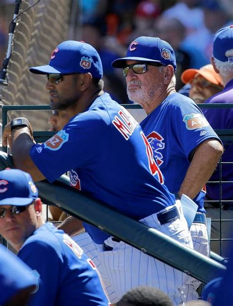 cubs bench chicago cubs confident in coaching staff