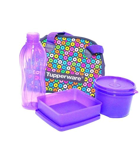 Tupperware Lunch Set tupperware loop lunch set buy at best price in india snapdeal