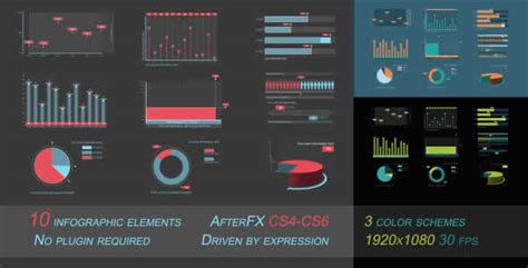 24 Best After Effects Project Infographic Templates Webdesignboom After Effects Infographic Template