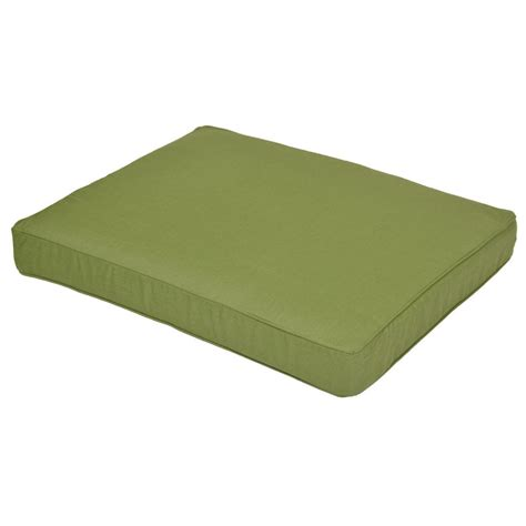 sunbrella ottoman cushion sauntera sunbrella spectrum cilantro replacement outdoor