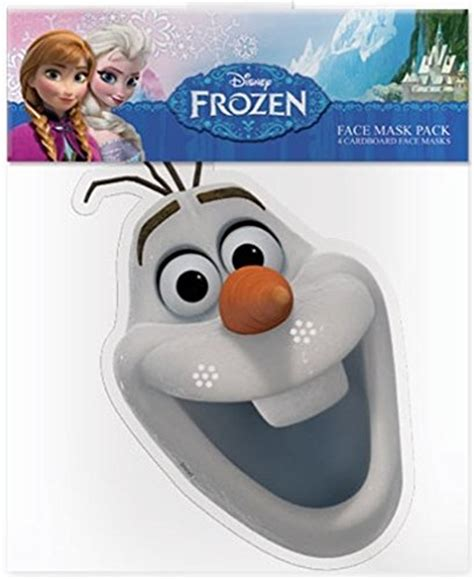 frozen olaf the snowman disney character face official disney olaf the snowman from frozen card face
