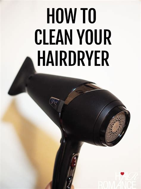 Hair Dryer To Clean Pc how to clean your hairdryer hair