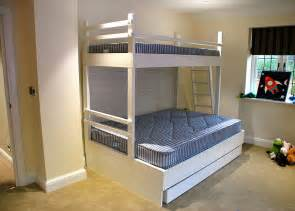 Tri Bunk Bed Furniture How To Get The Best Bunk Beds Stairway Bunk Beds Free Bunk Bed Plans Bunk