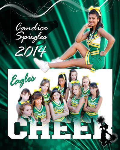 sports templates for photoshop elements sports cheer cutouts vol 15 photoshop elements template