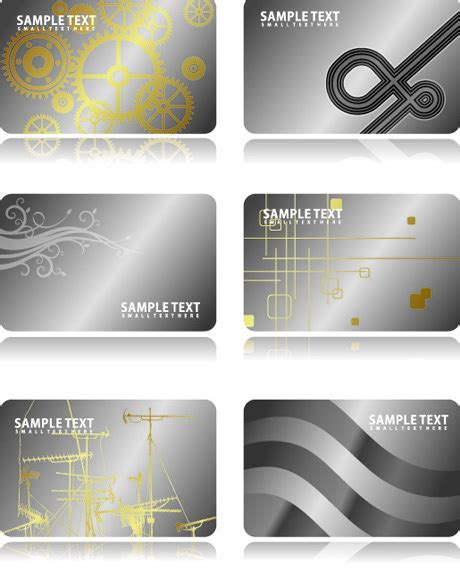 aluminum business cards templates metal business card template vector card free