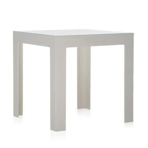 White Gloss Side Table Buy Kartell Jolly Side Table Glossy White Amara