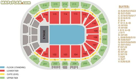 Men Arena Floor Plan stage general admission floor standing manchester arena seating chart