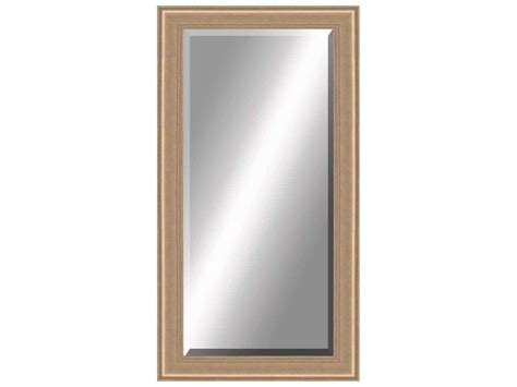 paragon beveled 36 x 78 aged silver floor mirror pad8159