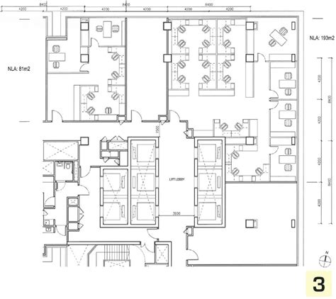 commercial bank floor plan paya lebar square new commercial development