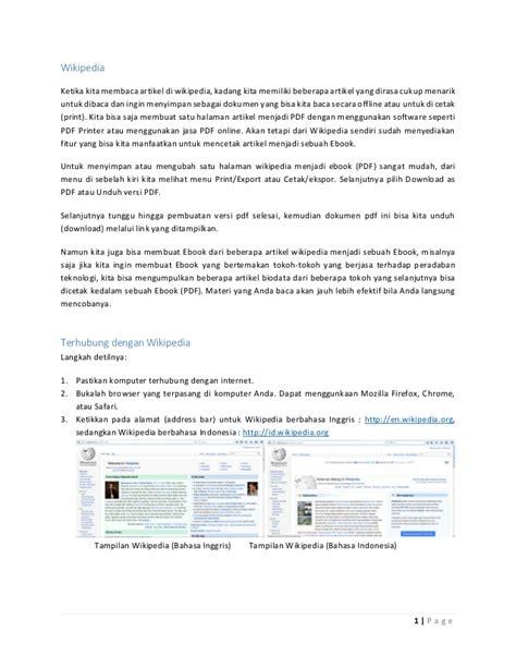 format membuat ulasan artikel membuat buku format pdf dari wikipedia