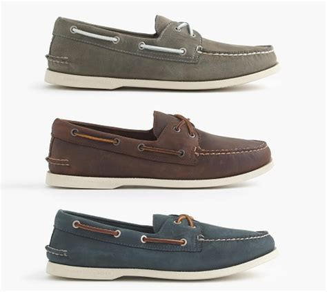 j crew boat shoes 10 best bets for 75 or less weathered boat shoes