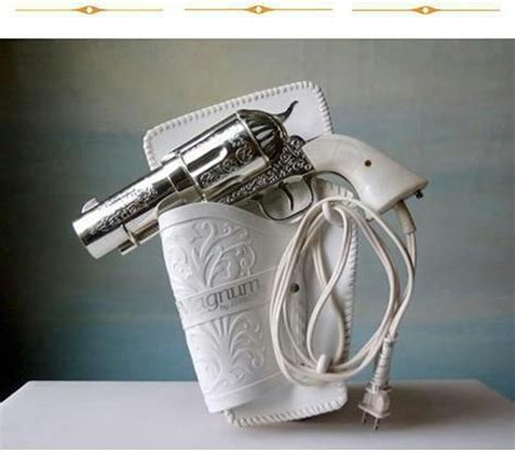 Hair Dryer Revolver hair dryer or revolver high heels and handguns