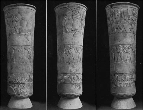 Uruk Vase by Mesopotamia And History Hsar 112 With Jung