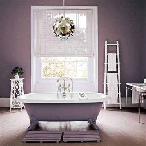 purple gray bathroom pretty bathroom traditional bathroom housetohome co uk
