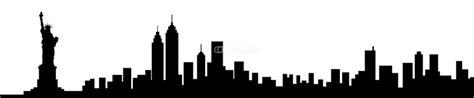new york skyline outline cliparts co