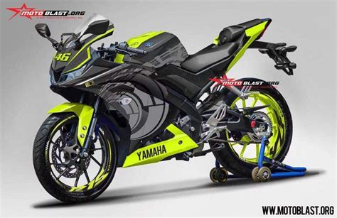 Decal 150 Rr New Shark 05 Kuning Sticker Striping india bound yamaha r15 v3 rendered with racing decals