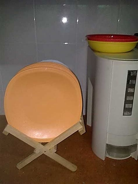 Dispenser Beras tupperware rice dispenser