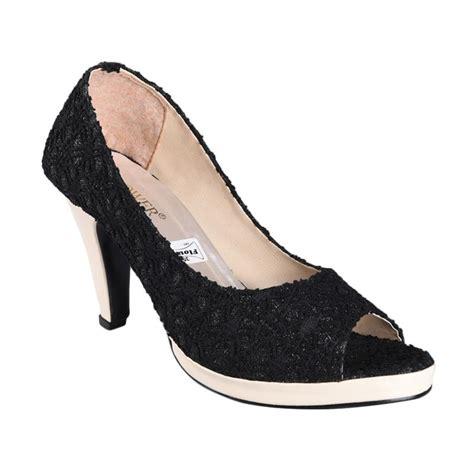 Terbatas Sepatu Heels Hitam Permata S0072 jual rsm sn 234 sepatu high heels wanita hitam harga kualitas terjamin blibli
