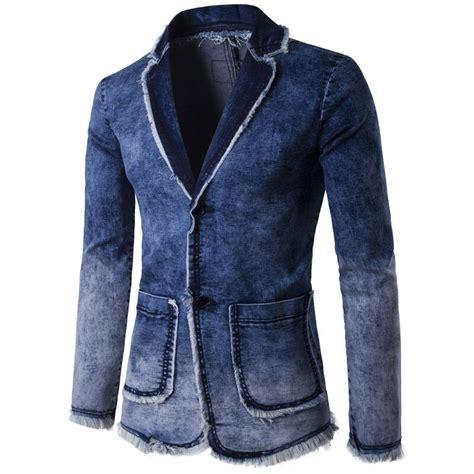 jas blazer jaket casual style blue aliexpress buy brand blazer casual fashion