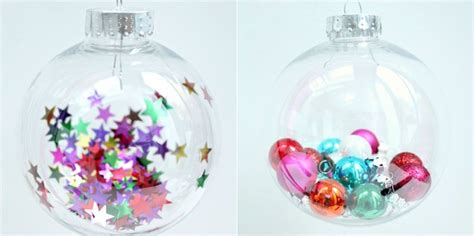 Comment Decorer Des Boules De Noel Transparentes by Decoration De Noel Boule Transparente