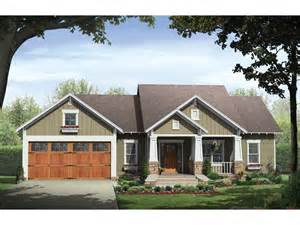 Craftsman Style Ranch Home Plans by Ridgeforest Craftsman Home Plan 077d 0138 House Plans