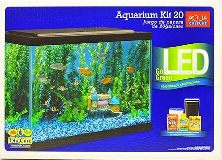 20 gallon aquarium led light 20 gallon aquarium kit tempered glass fish tank led lights