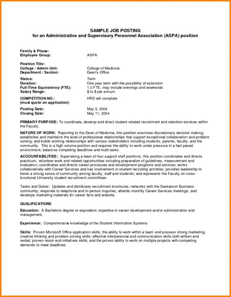 9 Notice Of Job Opening Forms Free Premium Templates Posting Template