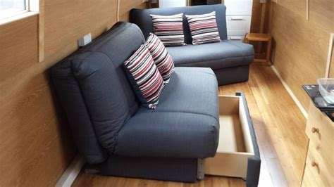 canal boat sofa beds 1000 images about narrowboat sofa beds on