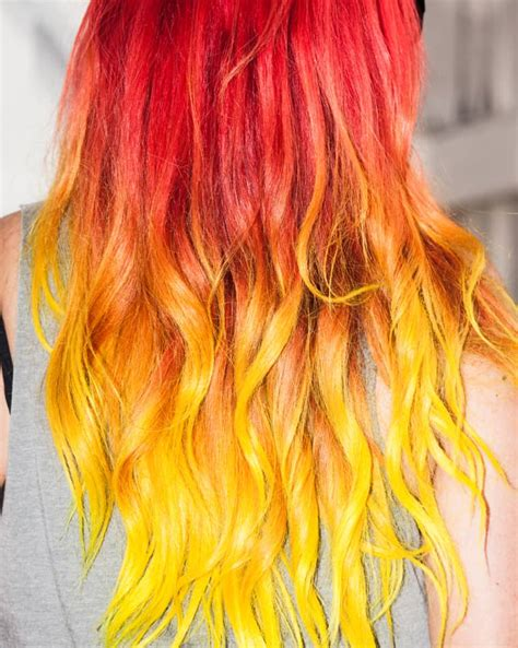try hair color 11 bold hair colors to try this the fader