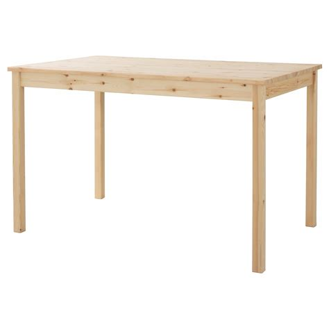 ingo table pine 120x75 cm ikea