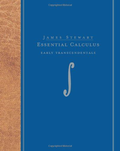 essential calculus early transcendentals finite mathematics introductory probability and statistics