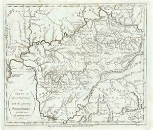 kentucky map 1800 the state of kentucky with the adjoining territories from