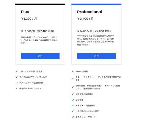 dropbox professional dropbox フリーランス向け dropbox profesional 発表 10月18日から月2 400円 年