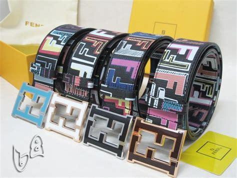 fendi colorful belt