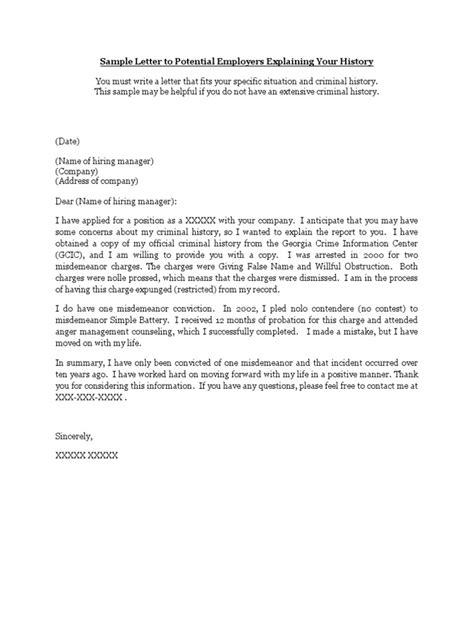 letter of explanation 2 dui letter of explanation exles poemdoc or 1396