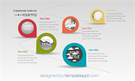 Templates In by Roadmap Journey Powerpoint Template Powerpoint