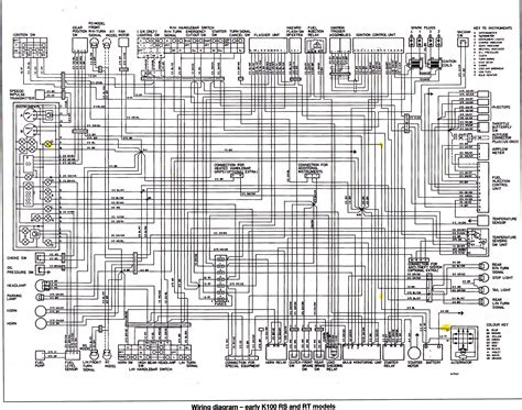 bmw k100 wiring diagram of the abs system 59468