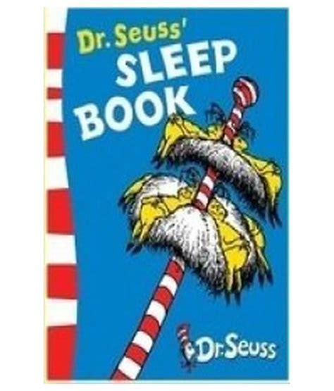 dr seusss sleep book dr seuss sleep book buy dr seuss sleep book online at low price in india on snapdeal