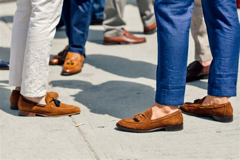 how to wear a loafer how to wear loafers of many