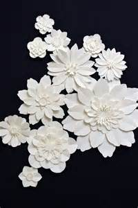 How To Make Flat Paper Flowers - 25 unique large paper flowers ideas on paper