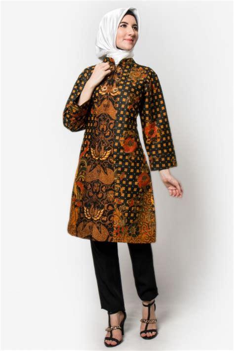 Baju Murah Atasan Wanita Trendy Hena Tunik 100 gambar baju atasan batik dengan trend model baju batik muslim atasan untuk wanita
