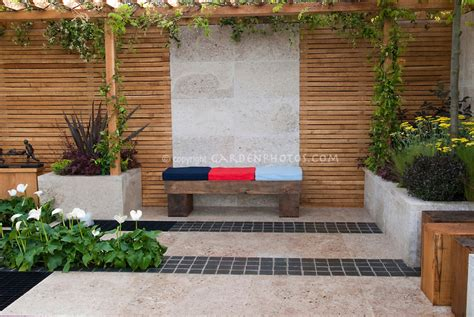 The Patio Ta by Outdoor Room Patio Plant Flower Stock Photography