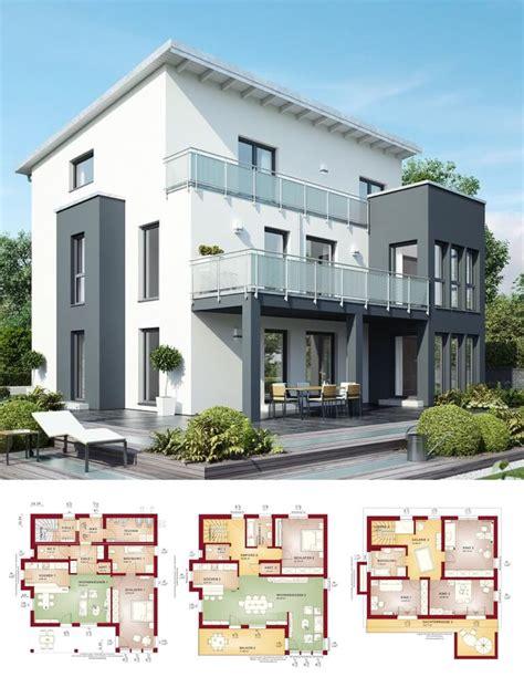 modernes zweifamilienhaus mit einliegerwohnung pultdach