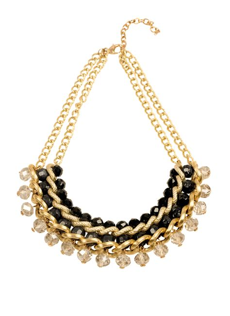 Lovely Necklaces by Rhea Lovely Black Necklace Shop Necklaces At
