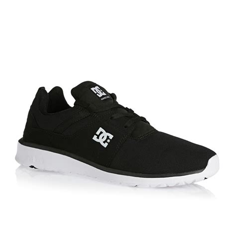 Dc Shoes Black dc heathrow shoes black white free uk delivery on all