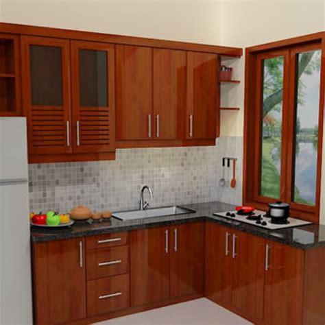 Lemari Dapur Kecil 40 contoh gambar desain dapur minimalis sederhana