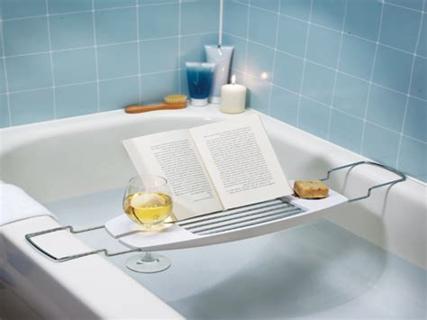 Bathtub Caddy With Reading Rack by Bathtubs Accessories Bathtub Caddy With Reading Rack